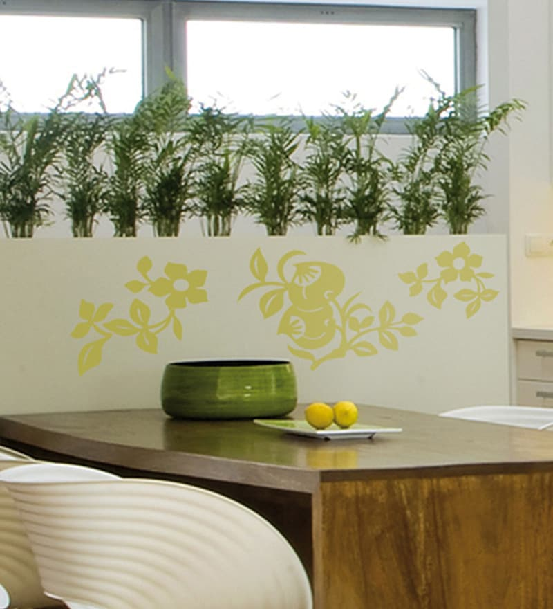 Vinyl Green Nature Wall Sticker by Home Decor Line