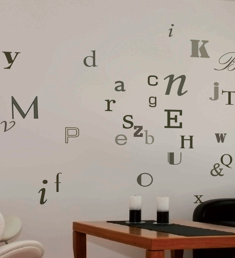 Vinyl Type Wall Sticker by Home Decor Line