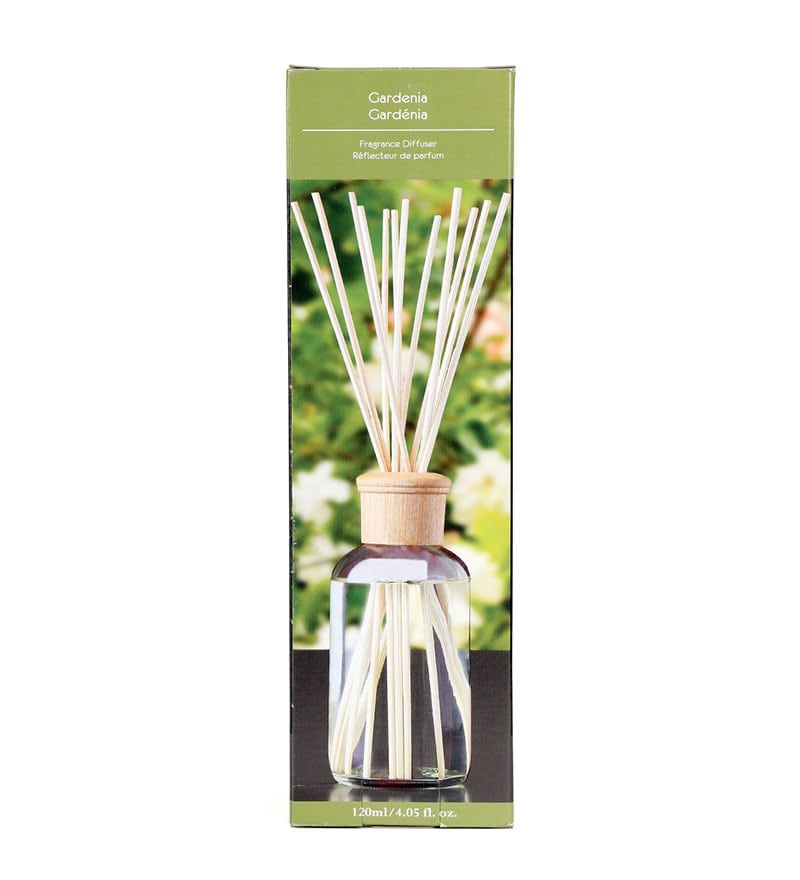 Gardenia Highly Fragranced Glass Reed Diffuser by Hosley