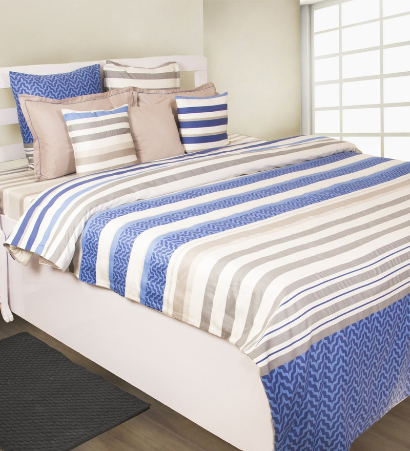 Blue 100% Cotton Dohar by House This