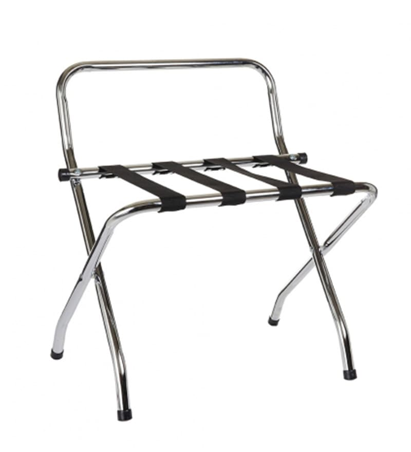Howards Storage World Chrome Luggage Suitcase Rack