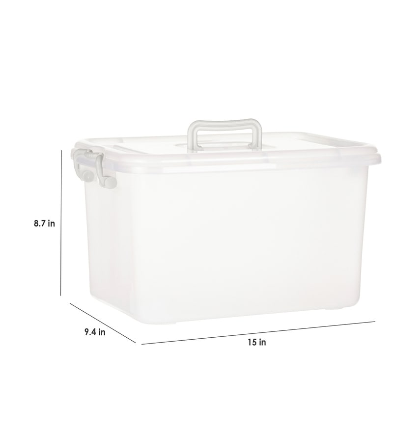 Useful Cotton Pad Dispenser Non-woven Fabric With Lid Storage Holder  6L