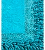 Blue Furry Style 20 X 32 Inch Cotton Door Mat by HomeFurry