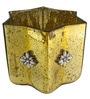 Gold Glass Trinket Box By Homesake