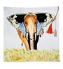 Homestop Multicolour Cotton & Polyester 16 x 16 Inch Ivy Cushion Cover