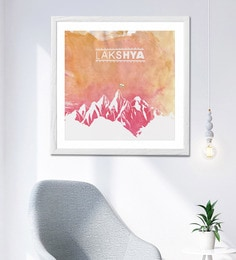 HULKUT  Sun Board 26 X 26 Inch Presents Lakshya The Movie Framed Poster