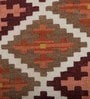 Multicolour Wool 60 x 36 Inch Handwoven Turkish Dhurrie by Imperial Knots