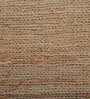 Brown Jute 60 x 36 Inch Rug by Imperial Knots