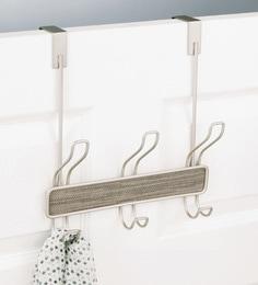 Interdesign Ch&agne Twillo Over Door Coat Hanger with Double Hooks & Cloth Hanger : Buy Wall Hooks u0026 Hangers Online in India at Best ...