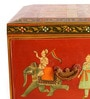 Painted Wooden Multicolour Box by In'Design