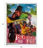 Paper 30 x 40 Inch Bombay to Goa Vintage Unframed Bollywood Poster by Indian Hippy