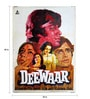 Indian Hippy Paper 30 x 40 Inch Deewaar Vintage Unframed Bollywood Poster