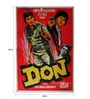 Paper 30 x 40 Inch Don Vintage Unframed Bollywood Poster by Indian Hippy