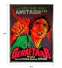 Paper 30 x 40 Inch Geraftaar Vintage Unframed Bollywood Poster by Indian Hippy