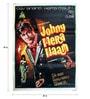 Paper 30 x 40 Inch Johny Mera Naam Vintage Unframed Bollywood Poster by Indian Hippy