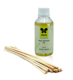 Iris Lemon Grass Multicolour Diffuser Refill Pack