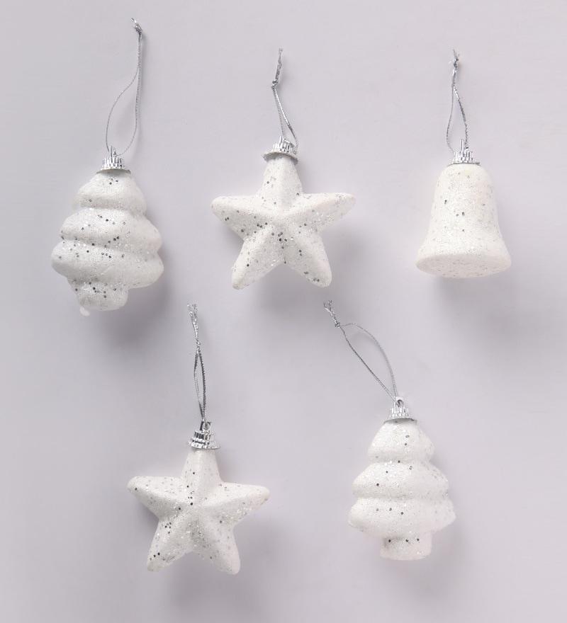 Buy Itiha White Thermocol Christmas Tree Decoration ...