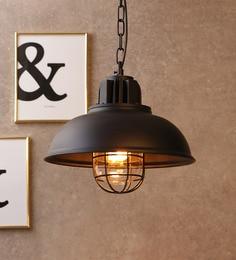 Jainsons Emporio Black Aluminium Pendant