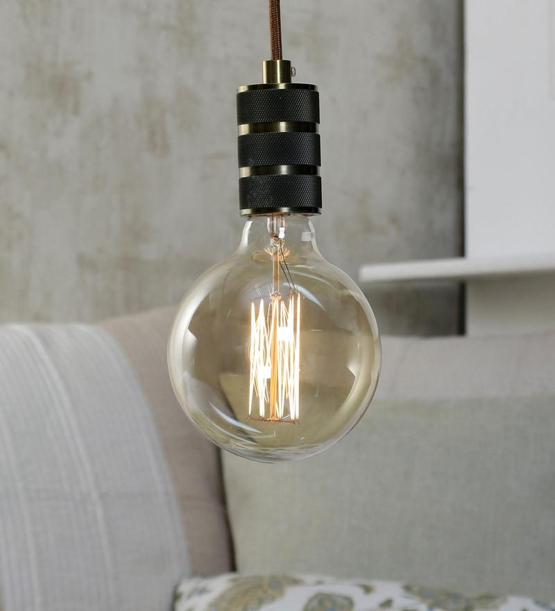 Transparent Glass Filament Lamp by Jainsons Emporio