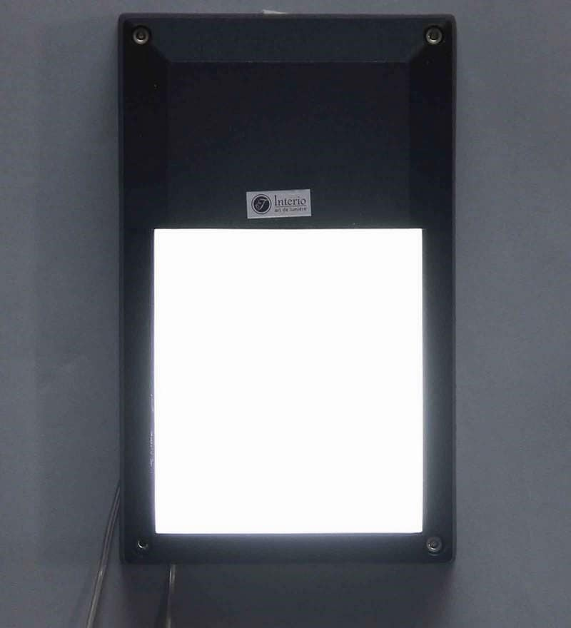 Kelo Outdoor Wall Light in Black by Jainsons Emporio
