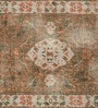 Jaipur Rugs Deep Green & Light Blue Wool 60 x 96 Inch Area Rug