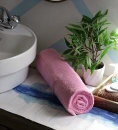JBG Home Store Pink 100% Cotton 30 X 72 Inch Bath Towel - 1 Bath Towel