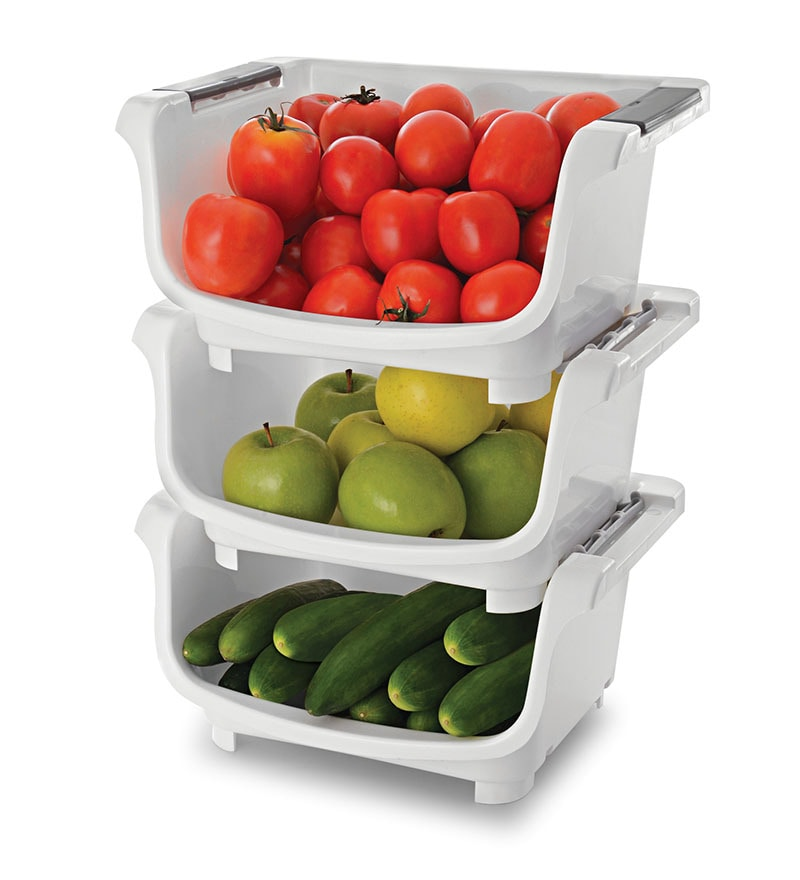 JB's Polypropylene Kitchen Stack - Set of 3