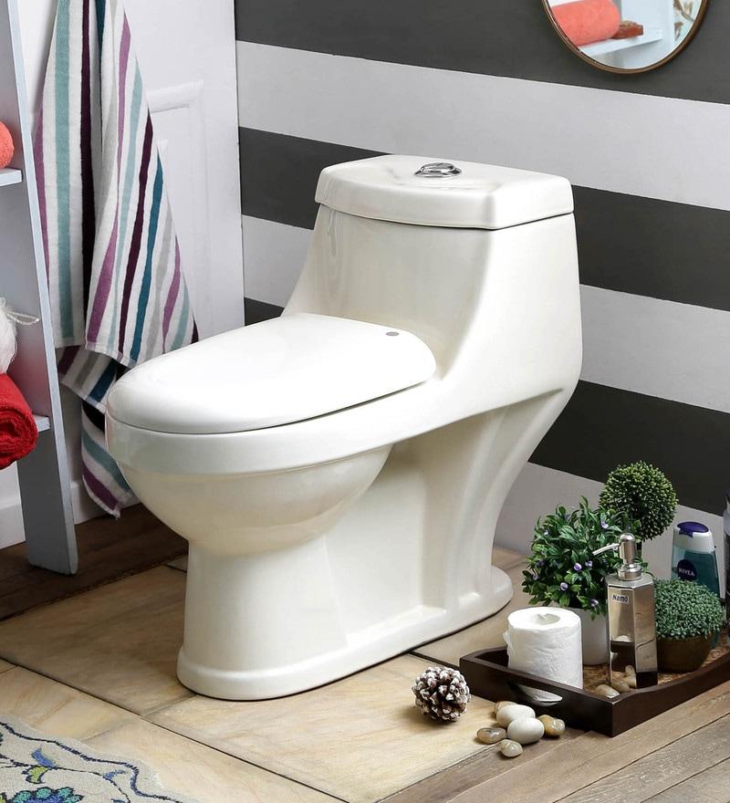 JJ Sanitaryware Adelina 200 mm Ivory Ceramic Water Closet