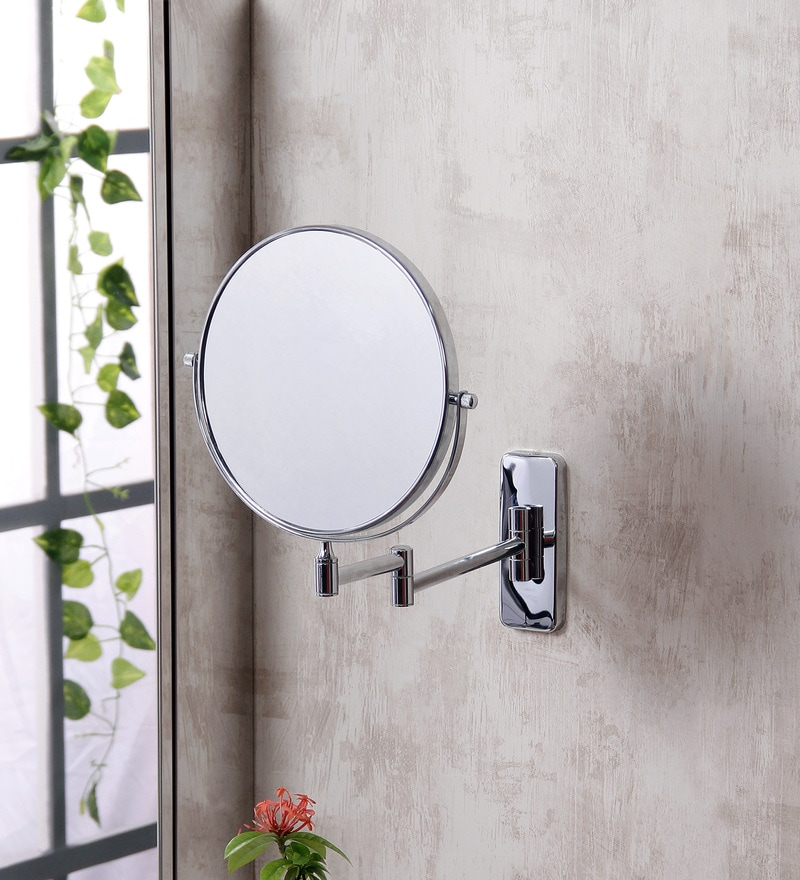JJ Sanitaryware MF 05 Chrome Brass Shaving Mirror