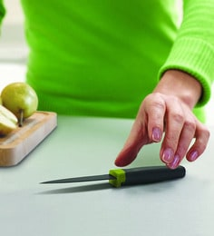 Joseph Joseph Elevate Paring Knife Green Stainless Steel