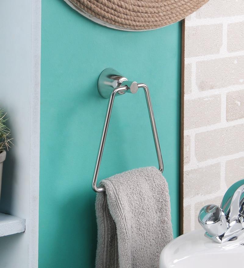 Jwell Bathroom Towel Holder / Towel Ring - Silk Series (SI NR)