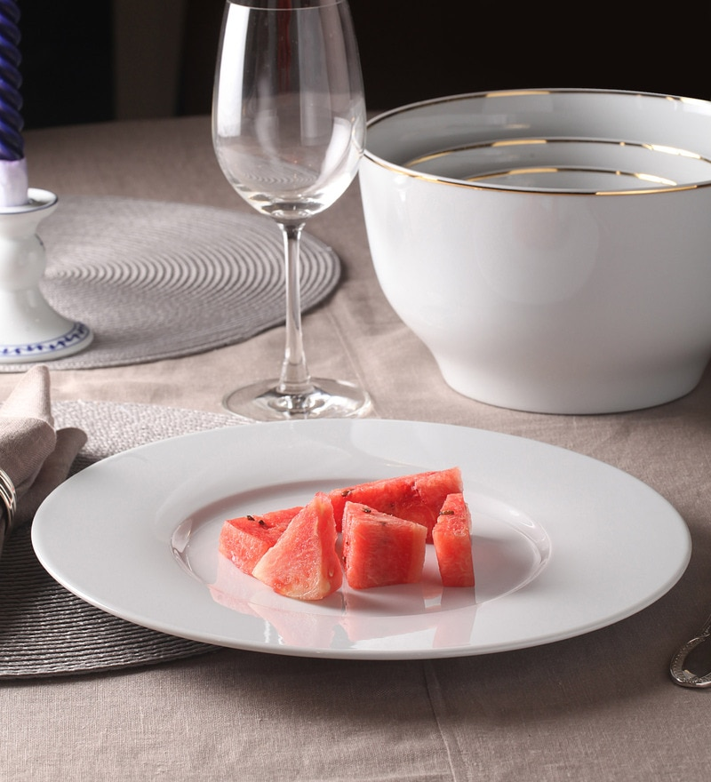 Kahla Magic Grip Diner White Porcelain show Plate