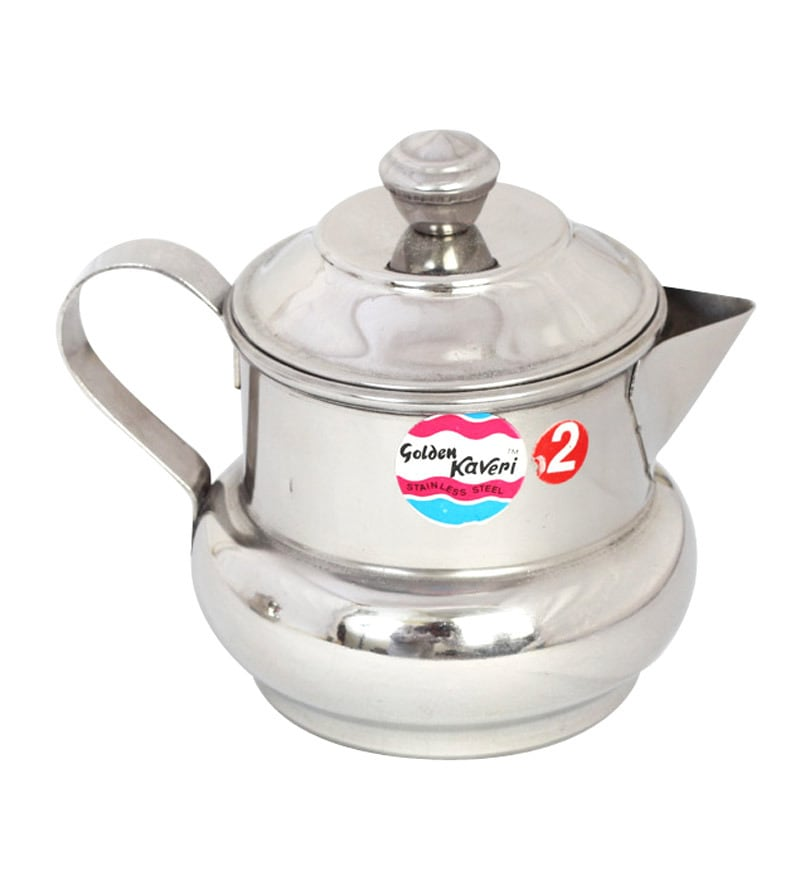 Kaveri Traditional Silver 250 Ml Oil & Ghee Container