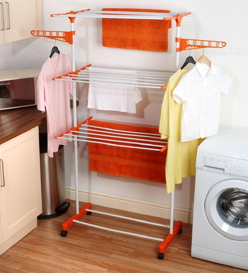 Kawachi Easy Plastic 3 Layer Clothes Dryer