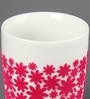 Kahla Touch Pink Flower Power Porcelain 350 ML Five Senses Large Mug