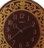 Cola Wooden 15 Inch Round Wall Clock by Kaiser