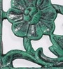 Karara Mujassme Green Cast Aluminium Victorian Style Antique Shelf Bracket