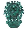Karara Mujassme Victorian Style Cast Iron Antique Green Fountain