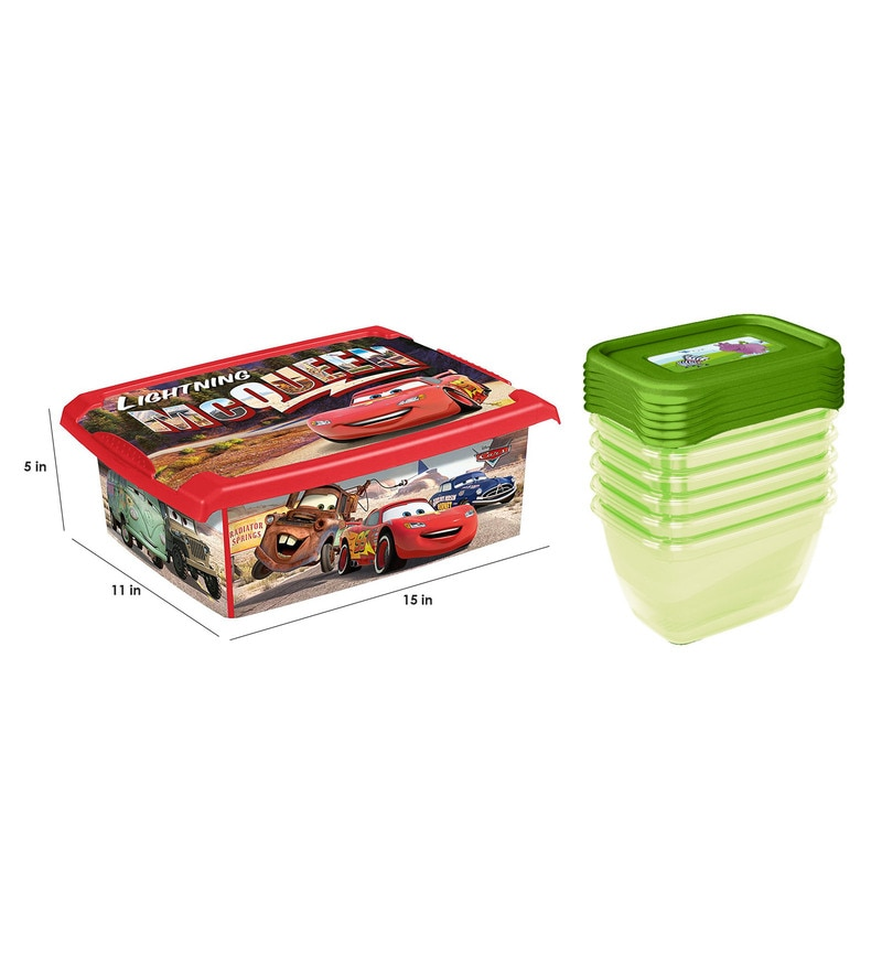Buy Keeeper Cars Plastic 10 Litres Fashion Box Free Gift Online