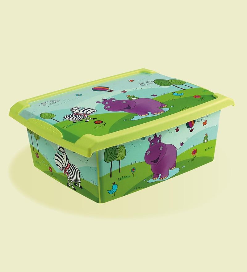 Keeeper Hippo Plastic 10 Litres Fashion Box