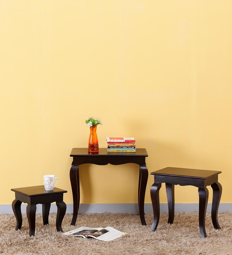 Kent Set of Tables in Warm Chestnut Finish by Amberville