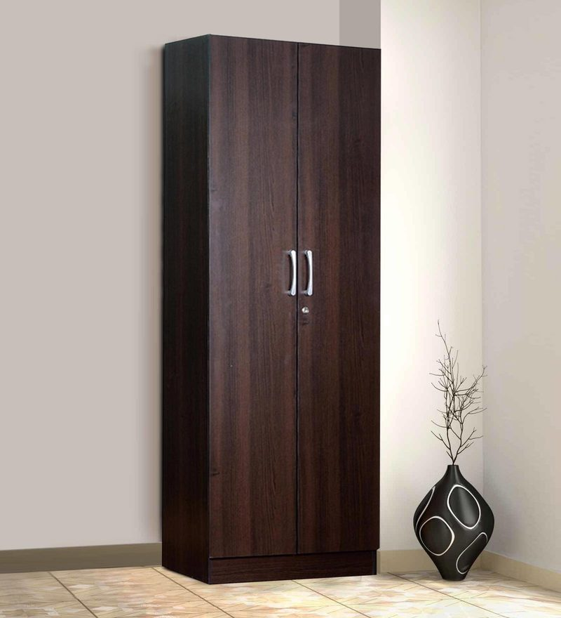 Kenzou Two Door Wardrobe in Wenge Finish by Mintwud