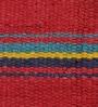 Khadi Multicolour Cotton 84 x 48 Inch Panja Phooldar Dhurrie