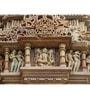 Hashtag Decor Khajuraho India Engineered Wood 27 x 20 Inch Framed Art Panel