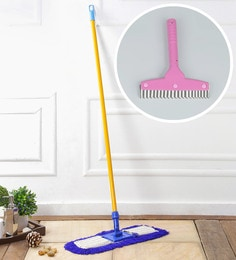 Kingsburry Dust Control Floor Mop With Free Kitchen Wiper