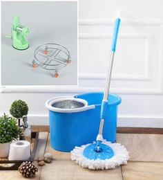 Kingsburry Steel Blue Mop With Free Juicer & Gas Trolley