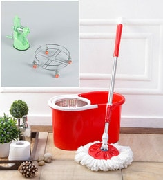 Kingsburry Steel Red Mop With Free Juicer & Gas Trolley