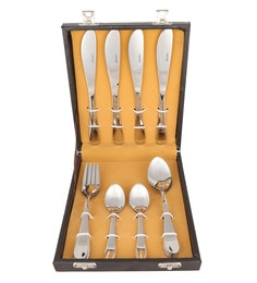 Kishco Limited Pristine Stainless Steel Cutlery Set - Set Of 16