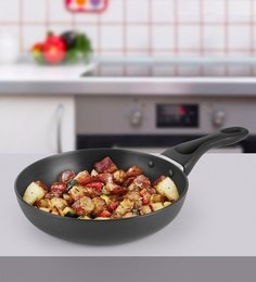 Kitchen Chef Hard Anodised Frying Pan 185 Mm