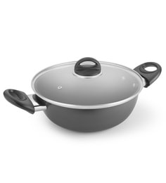 Kitchen Chef Round Dome With Lid 245 Mm Aluminium Cooking Pot